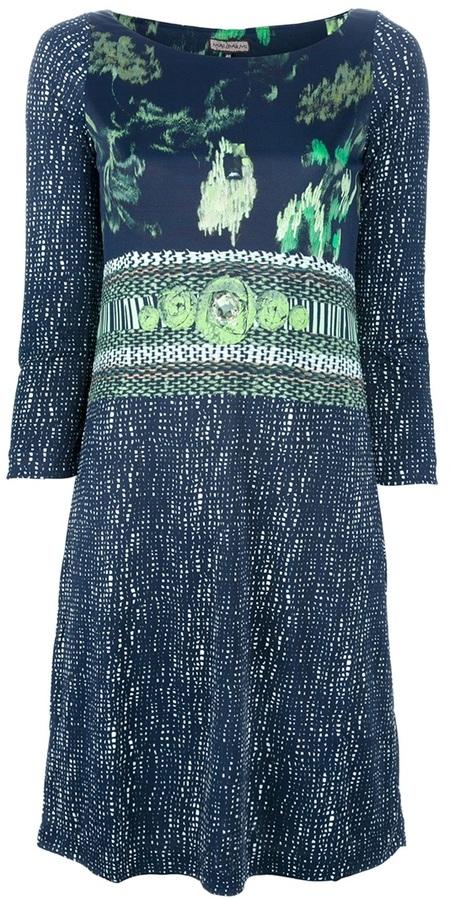 Maliparmi floral print dress