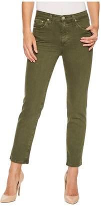 AG Adriano Goldschmied Isabelle in 1 Year Sulfur Desert Pine Women's Jeans