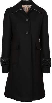 N°21 N.21 Embellished Cuff Coat