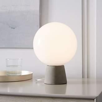 west elm Nova Table Lamp - Concrete