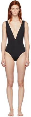 Haight Black Marina One-Piece Swimsuit