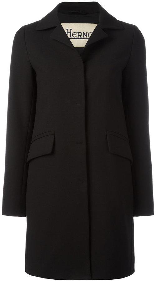 HernoHerno classic notch collar coat