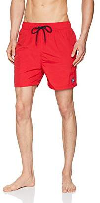 Ben Sherman Men's Inpanema Shorts, (Red Rd), (Size: M)