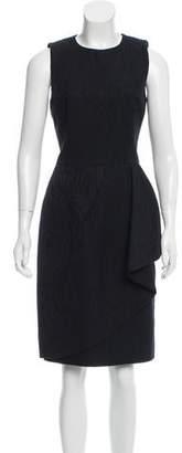 Michael Kors Patterned Pleated Dress