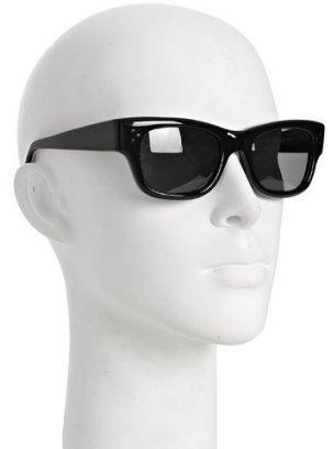 Oliver Peoples black stud detail 'Prentice' classic sunglasses