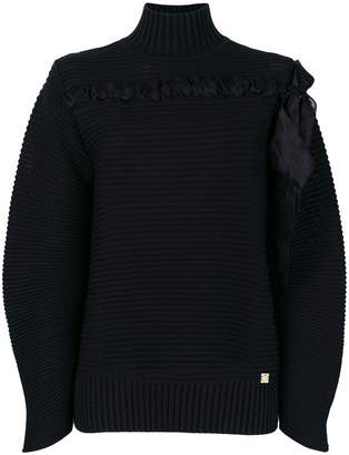 Class Roberto Cavalli ribbed knit sweater