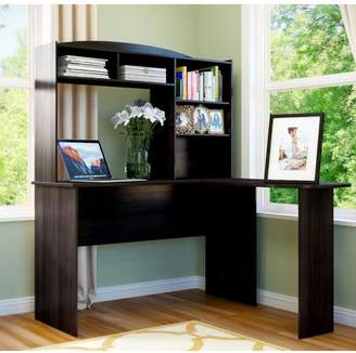 Andover Mills Marlton L-Shape Desk with Hutch