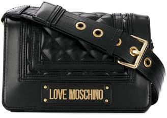 Love Moschino quilted faux leather cross body bag