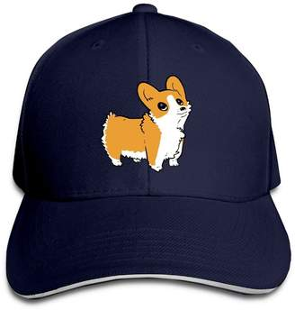 Corgi Bng Unisex Caps Puppy Hat Adjustable Cool Sport Strap Cap Hats