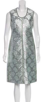 Prada Brocade Sheath Dress