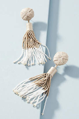 Mignonne Gavigan Madison Beaded Tassel Drop Earrings