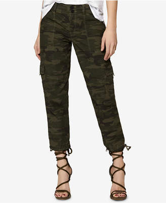 Sanctuary Camo-Print Cargo Pants