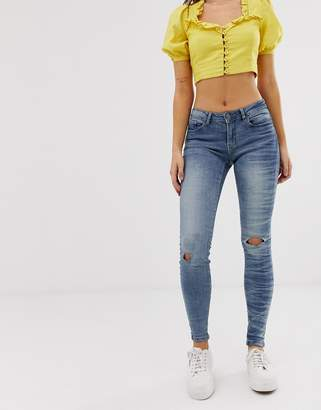 JDY skinny jeans in light blue