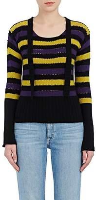 Philosophy di Lorenzo Serafini Women's Striped Cashmere Sweater