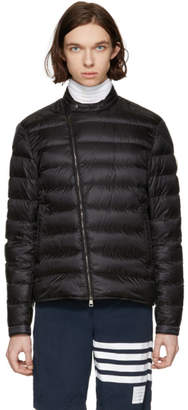 Free Shipping at SSENSE · Moncler Black Down Crio Jacket