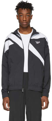 Vector Reebok Classics Black and White Archive Track Jacket