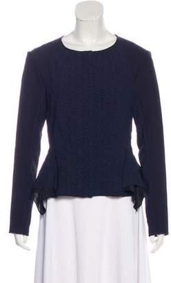 Nina Ricci Asymmetrical Zip-Up Jacket