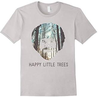 Happy Little Trees T-Shirt - Epic Painting Forest Shirt