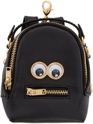 Sophie Hulme Black Micro Wilson Backpack Coin Pouch $395 thestylecure.com