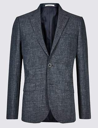 Marks and Spencer Linen Miracle Slim Fit Jacket