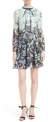 Women's Ted Baker London Meelia Floral Print Chiffon Dress $335 thestylecure.com