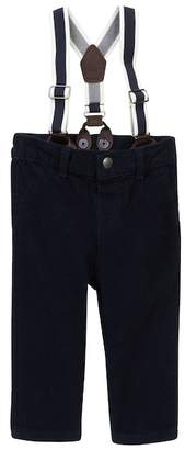 Joe Fresh Corduroy Pants with Suspenders (Baby Boys)
