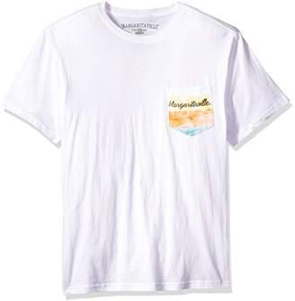 Margaritaville Men's Short Sleeve Paradise Lifestyle Pocket T-Shirt