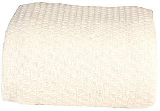 """+Hotel by K-bros&Co Intradeglobals Hotel Luxury Collection classic All Seasons Super Soft Lightweight 100% Premium Cotton luxurious Blanket for Extra comfort,Twin 66x90"""", Ivory 350 GSM"""