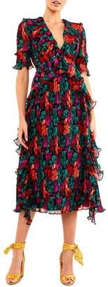 Talulah Meditteranian Mix Midi Dress