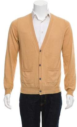 Dries Van Noten Merino Wool-Blend Cardigan