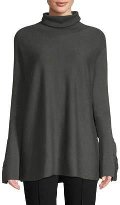 Tibi Women's Merino Wool Turtleneck Sweater