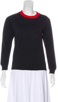 Dries Van Noten Long Sleeve Crew Neck Sweatshirt