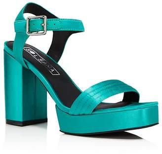 Sol Sana Women's Cathy Satin Platform Sandals - 100% Exclusive