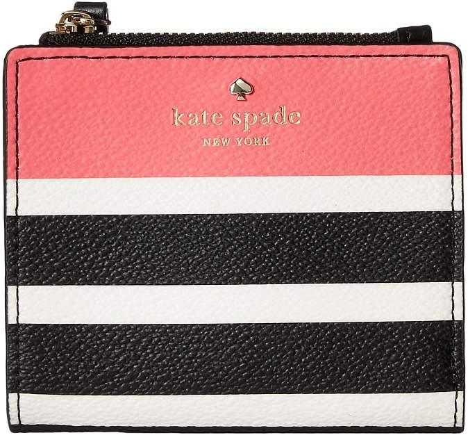 Kate Spade New York - Hyde Lane Stripe Pop Adalyn Wallet