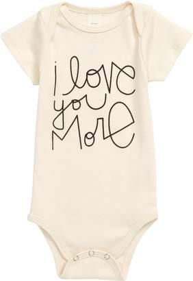 Tenth & Pine Love You More Organic Cotton Bodysuit
