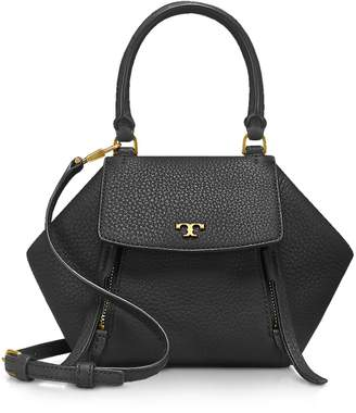 Tory Burch Half-Moon Micro Satchel Bag