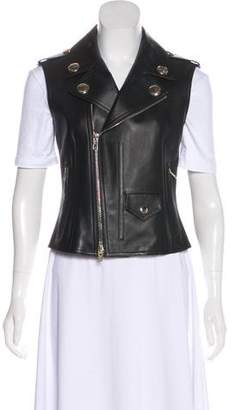 Givenchy Leather Biker Vest