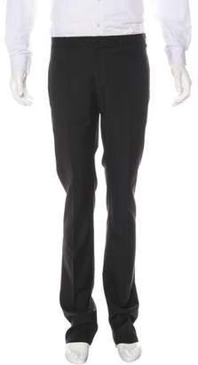 Lanvin Flat Front Wool Pants