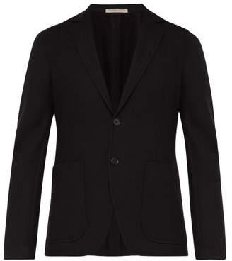 Bottega Veneta Cashmere Single Breasted Blazer - Mens - Black
