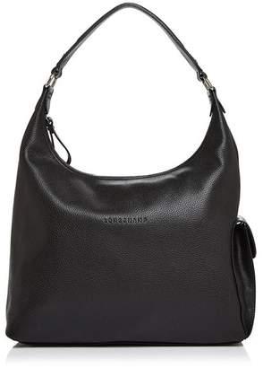 Longchamp Le Foulonne Large Leather Hobo