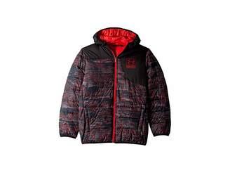 Under Armour Kids Print Swarmdown Hooded Jacket (Big Kids)