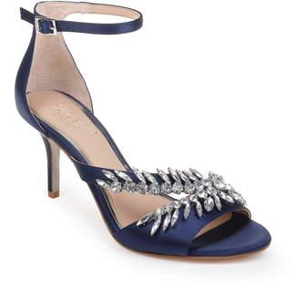 Badgley Mischka Kailee Embellished Ankle Strap Sandal