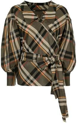 Muller of Yoshio Kubo Muller Of Yoshiokubo Abiquiu flare blouse