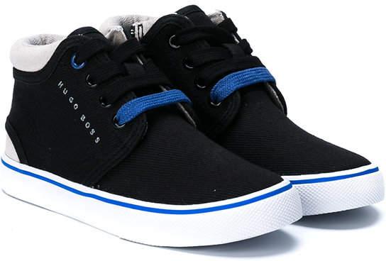 Boss Kids high-top sneakers