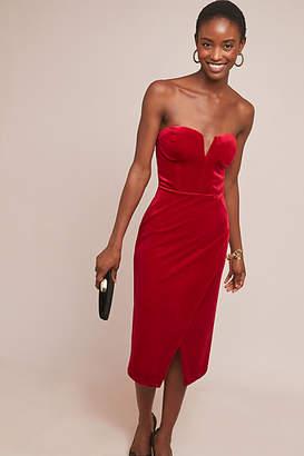 Yumi Kim Velvet Sweetheart Dress