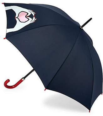 Lulu Guinness Kensington1 Cut Out Lips Umbrella