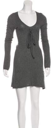 Daniele Alessandrini Long Sleeve Mini Dress