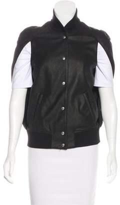 Maison Margiela Cape Leather Vest