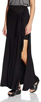 Ella Moss Women's Bella Slit Plain Skirt,(Manufacturer Size:X-Small)