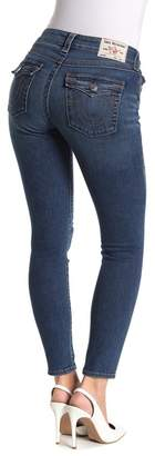 True Religion Jennie Destroyed Flap Pocket Skinny Jeans